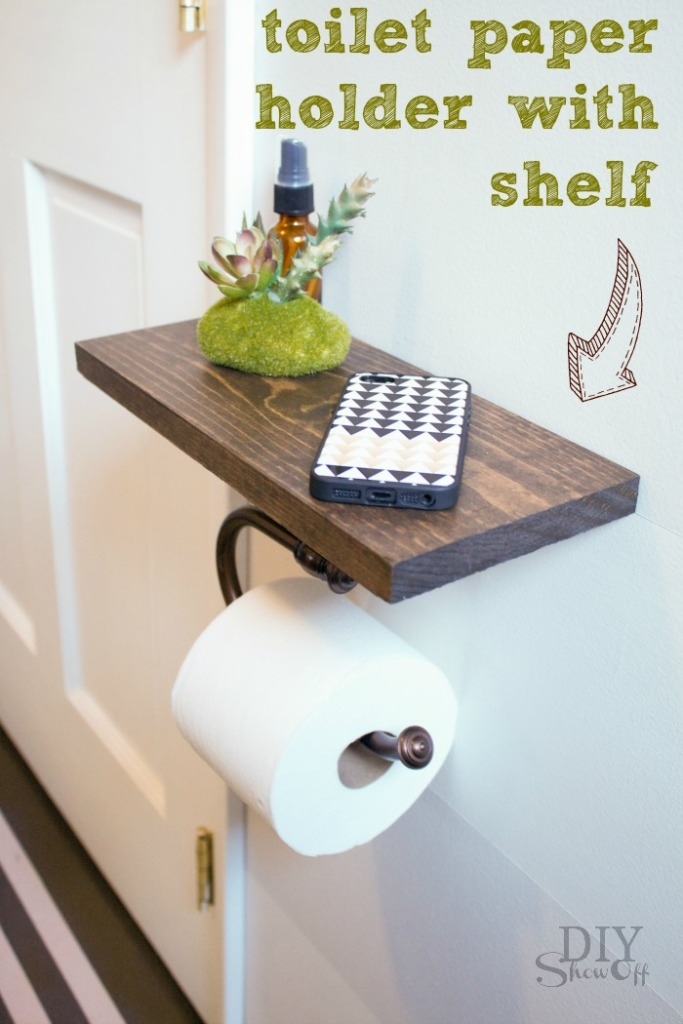 toilet-paper-holder-with-shelf-@diyshowoff