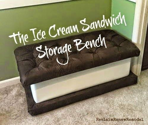 Ice Cream Sandwich Storage Bench Do It Daily