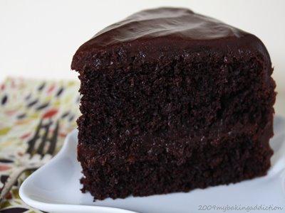 طريقة الكيكة السوداء اللذيذة اوى