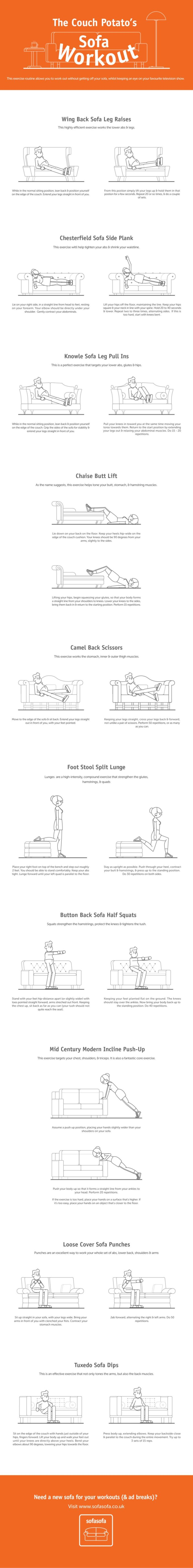 Sofa Workout Do It Daily