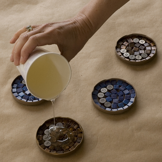 Mosaic-Coasters-Step-4-pour-resin