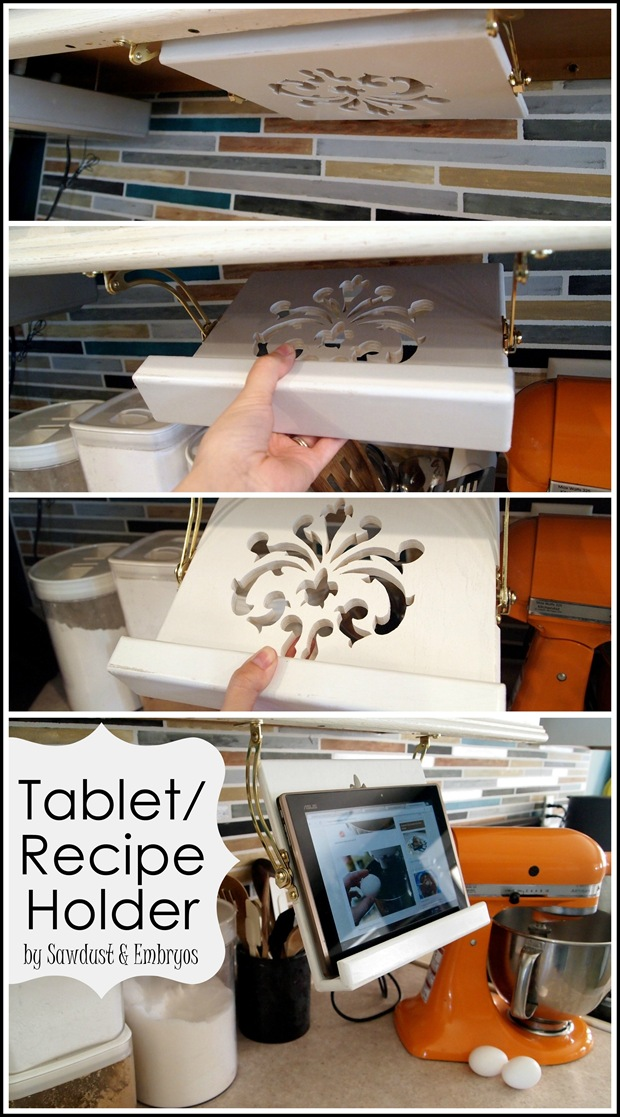 DIY-Tablet-or-Recipe-Book-Holder-for-under-cabinet-Sawdust-and-Embryos_thumb