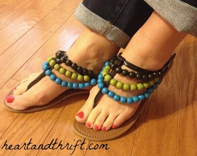 Flip-Flops-Beaded