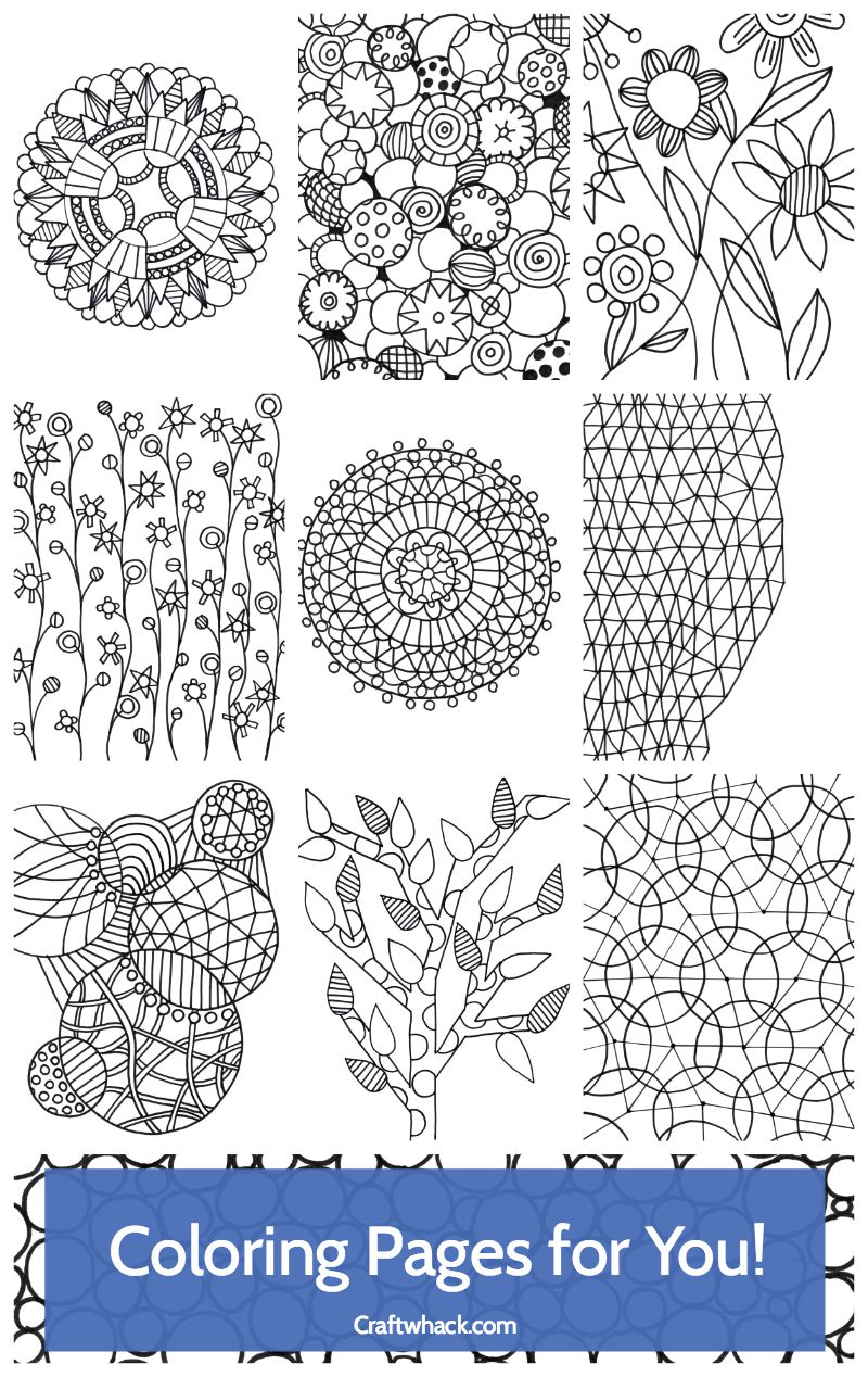 daily coloring pages for adults - photo#9