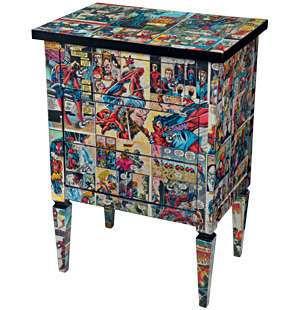 Comic Book Furniture Do It Daily